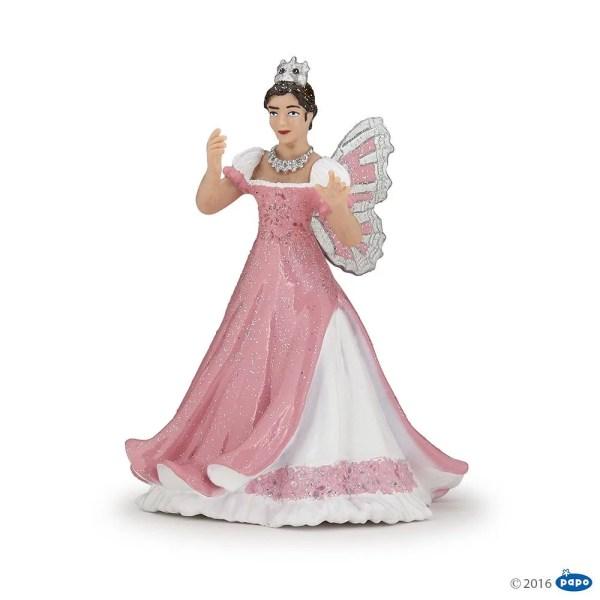 Figurines Monde enchanté, Reine des elfes rose, Papo, Bidiboule