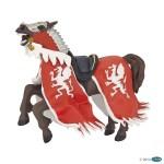 Cheval au dragon rouge