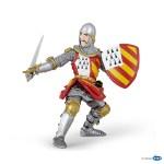 Chevalier au tournoi (rouge / jaune)