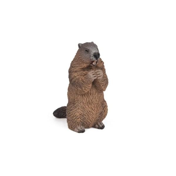 Figurine Les animaux du jardin, Marmotte, Papo, Bidiboule