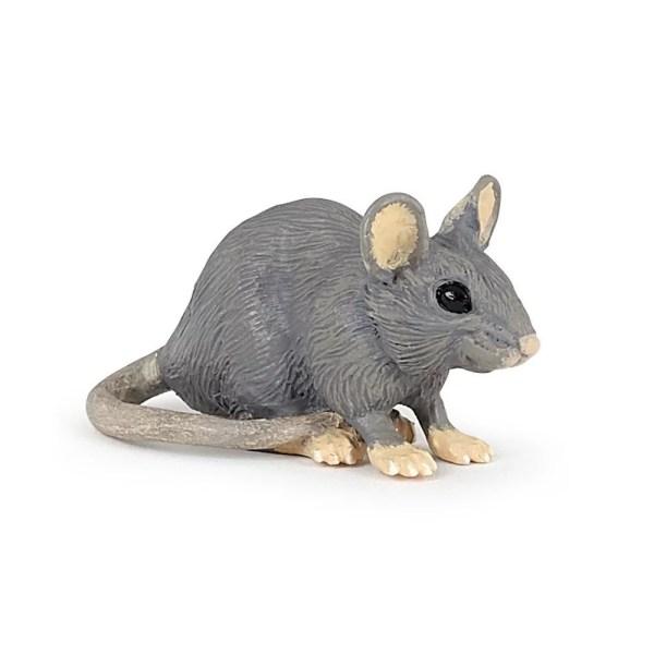 Figurine Les animaux du jardin, Souris grise, Papo, Bidiboule