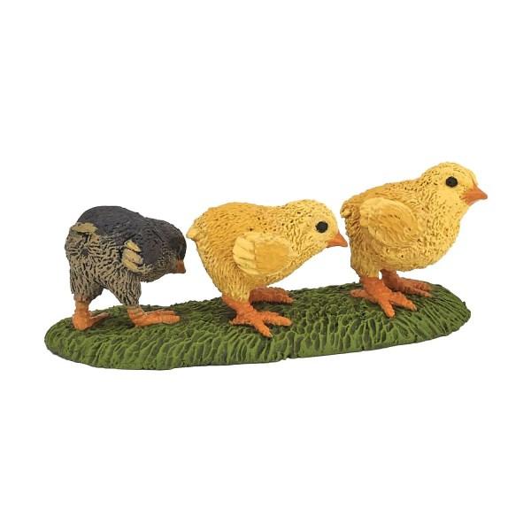 Figurines Animaux de la ferme, Poussins, Papo, Bidiboule