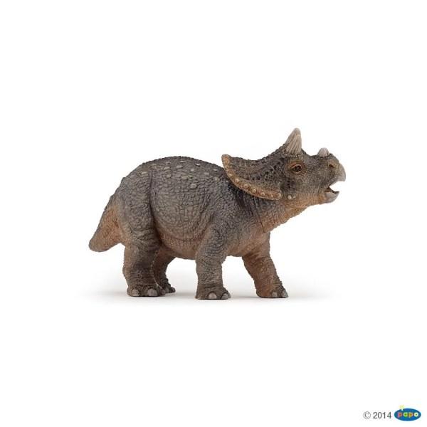Figurines Dinosaures, Jeune tricératops, Papo, Bidiboule