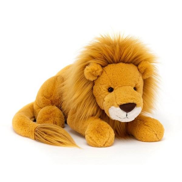 Louie le lion, Peluche, Jellycat, Bidiboule