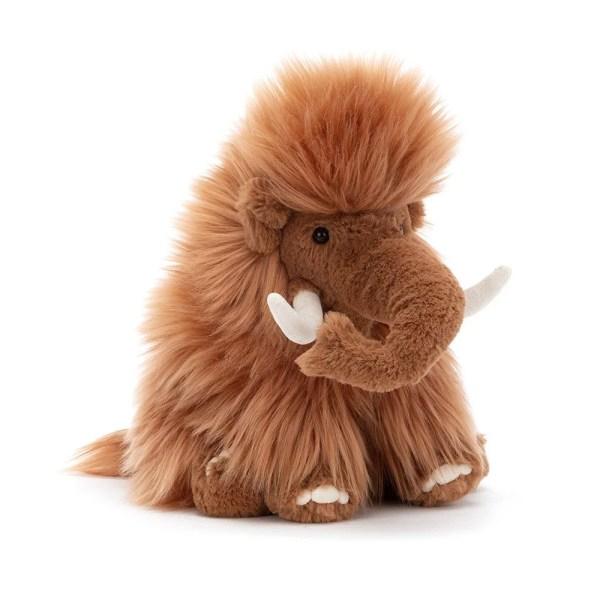 Avec sa longue crinière et ses défenses qui ne font pas mal, le peluche Maximus le mammouth deviendra vite le protecteur de bébé.Maximus Le Mammouth, Peluche, Jellycat, Bidiboule