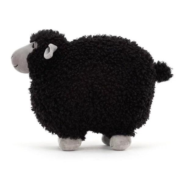Peluche Rolbie le Mouton Mouton noir 28 cm,