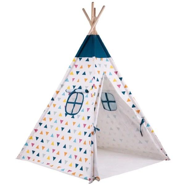 La tente tipi pour enfant est fabriquée à partir de matériels de haute qualité et provenant de sources responsables.