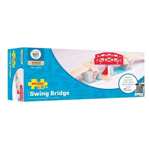 Le pont tournant circuit train en bois est fabriqué à partir de matériels de haute qualité et provenant de sources responsables.