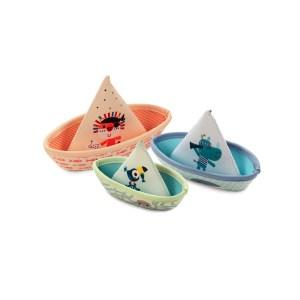 3 bateaux jungle