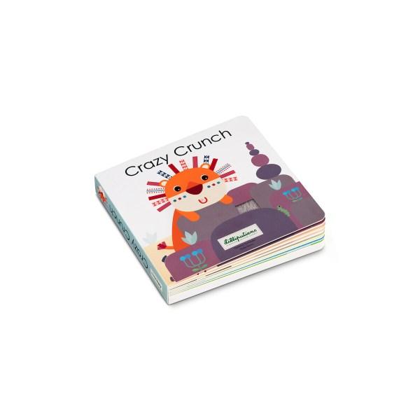 Ce livre pour bébé tactile et sonore est un livre en carton composé de 16 pages sur le thème des petits accidents de la vie.