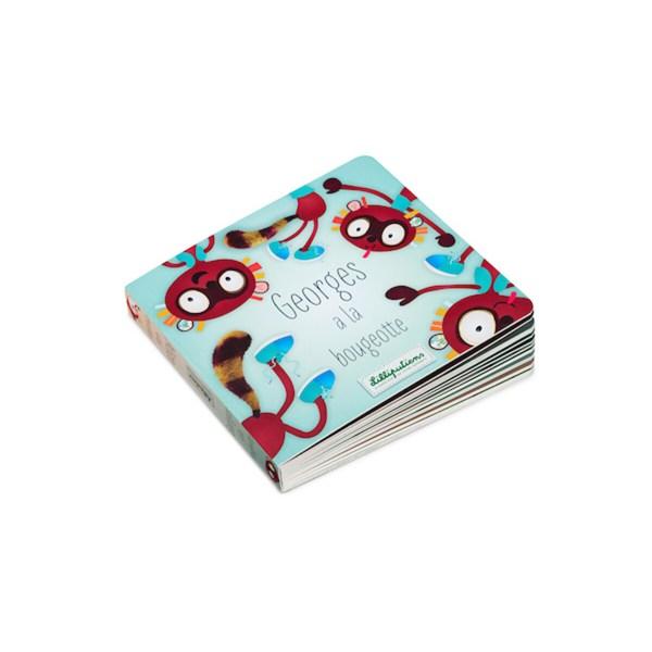 Le livre réversible Georges et Aliceest un livre en carton pour les enfants à partir de 3 ans.