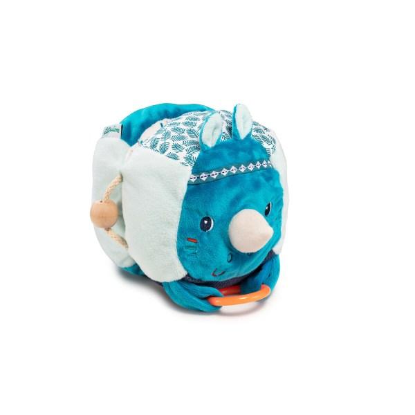Avec une peluche découverte comme ça, on ne peut que s'amuser en explorant le monde ! Ce magnifique jouet d'éveil en tissu est, comme son nom l'indique, plein de découvertes.
