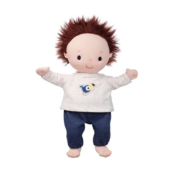 Dès 2 ans, votre enfant pourra très facilement habiller et déshabiller son poupon car les ouvertures du pyjama pour poupon sont très faciles et le pyjama pour poupon a été spécifiquement conçu pour les très jeunes enfants.