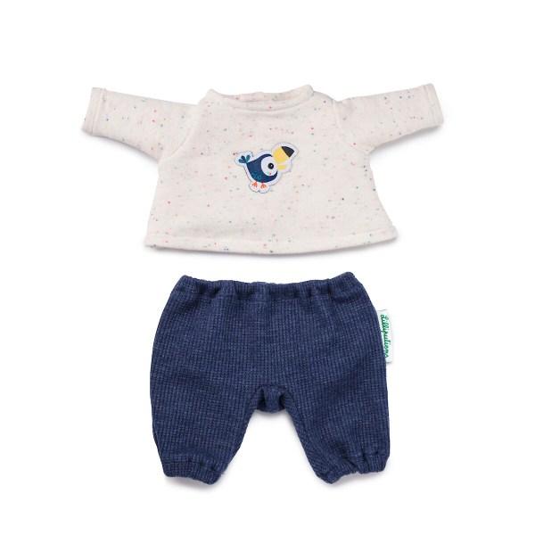 Ce pyjama pour poupon est l'accessoire de poupée indispensable pour changer son poupon ou sa poupée et le préparer pour la nuit.