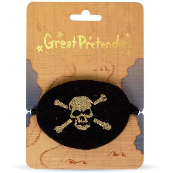 accessoires de pirate Cache oeil sur son carton