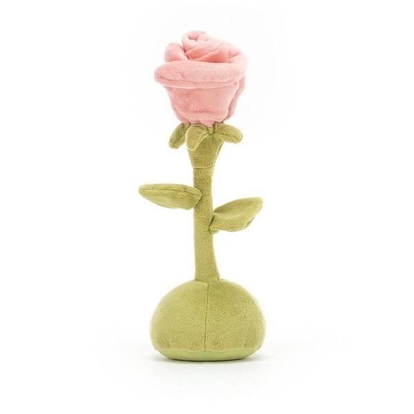 La peluche Fleurette est tout ce qu'il faut pour les amoureux des jardins et de la nature de tous les âges, y compris les nouveaux nés ! les Bébés adoreront jouer avec tous les éléments de la peluche et pourquoi pas mordiller ses pétales !