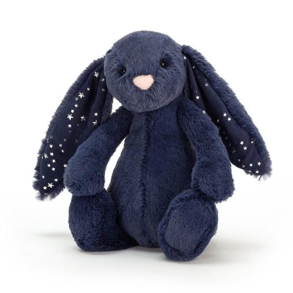 Très (très très) doux (même encore plus que ce que vous imaginez), le lapin Bashful Bunny réconfortera les enfants et partagera leurs joies. Ses grandes oreilles sont très appréciées des petites mains qui adorent manipuler tout ce qui passe !
