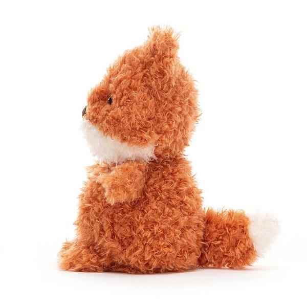 Aussi douce au toucher que la peau de Bébé, Little Fox sera l'ami fidèle dont on ne se sépare plus.