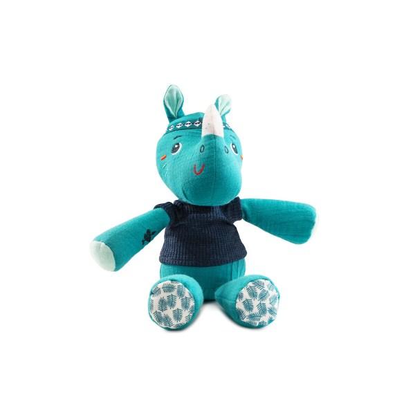 Ce doudou fabriqué en coton 100% écologique saura accompagner votre enfant dans l'apprentissage de la vie avec les petits bobos et les gros dodos ! (Presque aussi efficace que les bisous magiques Papa ou Maman)