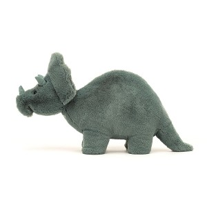Peluche dinosaure Tricératops Fossily