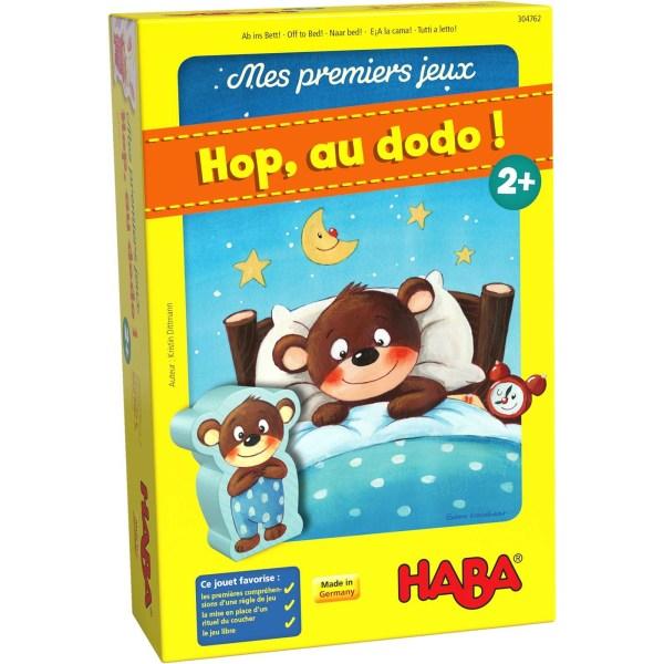 boite du jeu Hop, au dodo