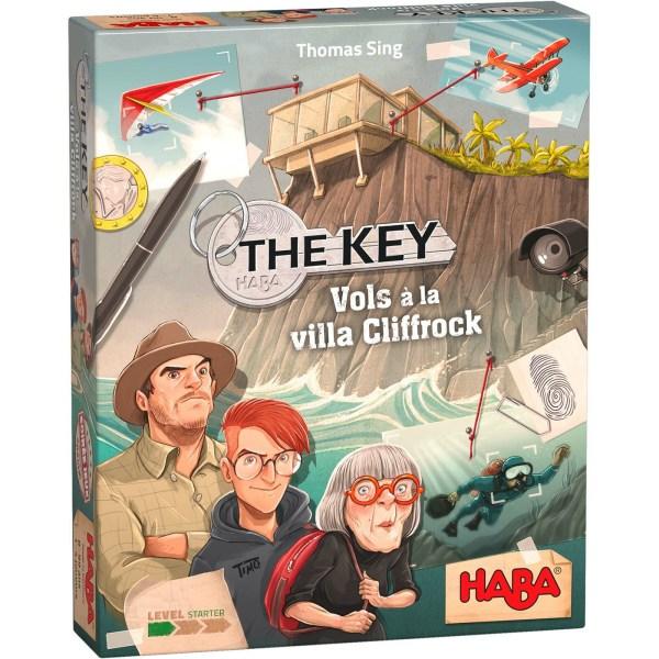 boite du jeu The Key – Vols à la villa Cliffrock