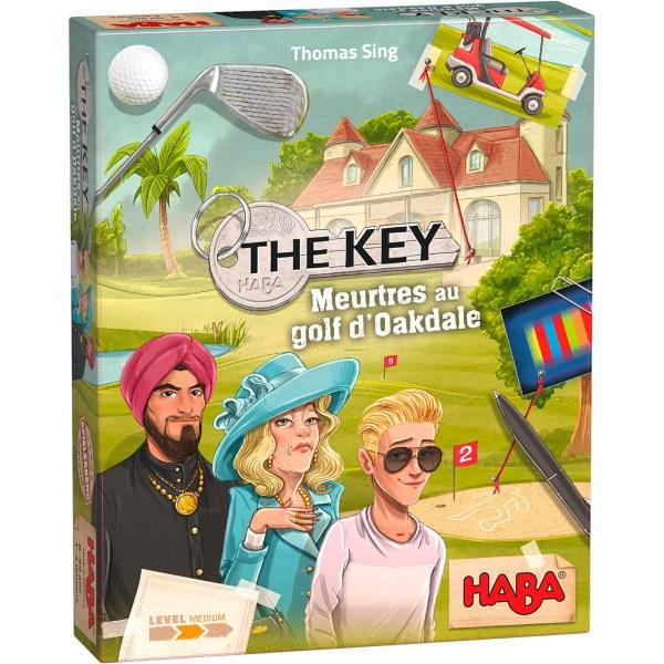 boite du jeu The Key – Meurtres au golf d'Oakdale