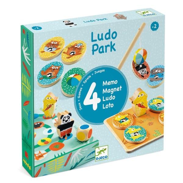 Boite du jeu Ludo Park