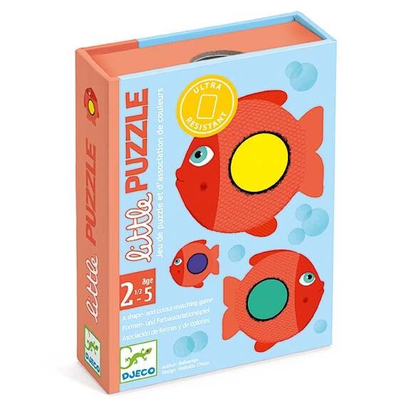 boite du jeu de cartes Little Puzzle