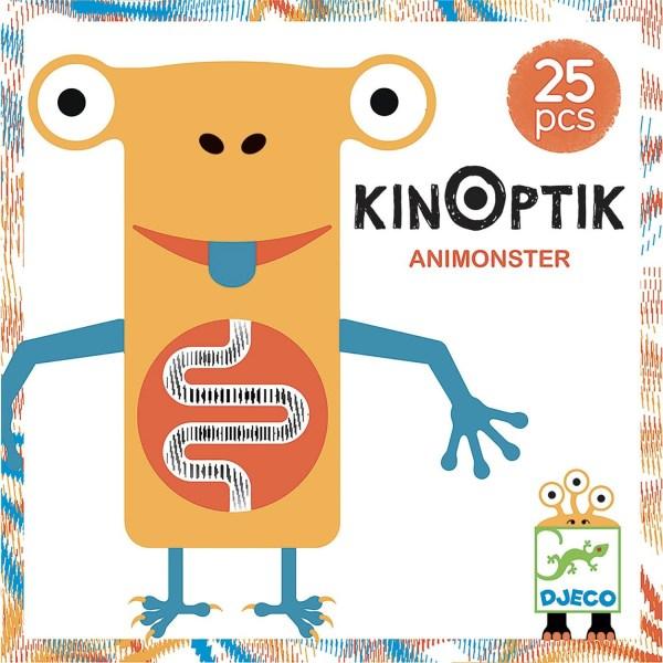 dessin de la boite Kinoptik Animonstre