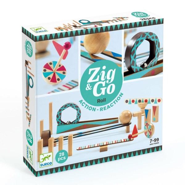 boite du jeu Zig & Go Roll