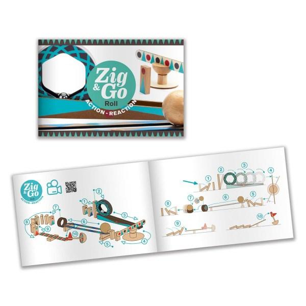 livret du jeu Zig & Go Roll