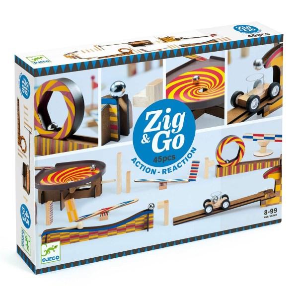 boite du jeu Zig & Go Wroom