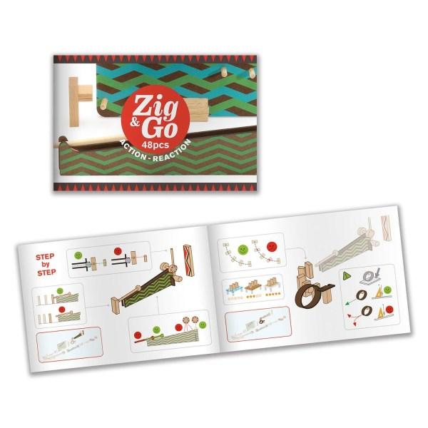 livret du jeu Zig & Go Big Boum Wall