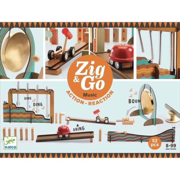 boite du jeu Zig & Go Music