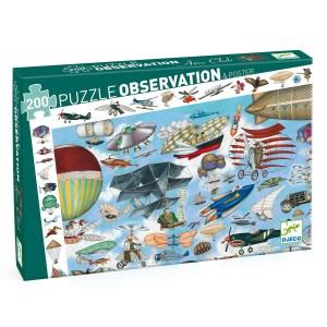 Puzzle observation Aéro Club 200 pièces