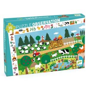 Puzzle observation Ferme 35 pièces