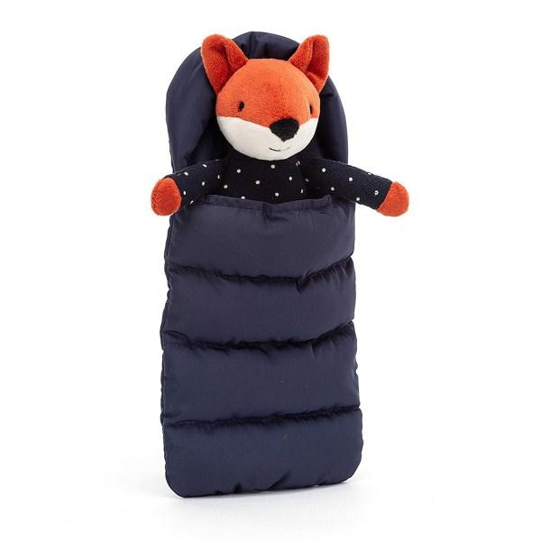 Avec ses petites oreilles toutes douces et son nez noir en feutrine, il sera parfait pour bercer Bébé avant de l'endormir. Le doudou Snuggler Fox adorera se blottir contre Bébé pour lui raconter de belles histoires.