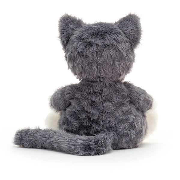 La peluche chat Mitten Kitten fera un très beau cadeau de naissance qui suivra Bébé du berceau à l'école !