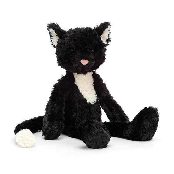 La peluche Smuffle Cat est unepeluche en forme de chat. Toute douce et moelleuse, elle convient aux bébés dès la naissance.