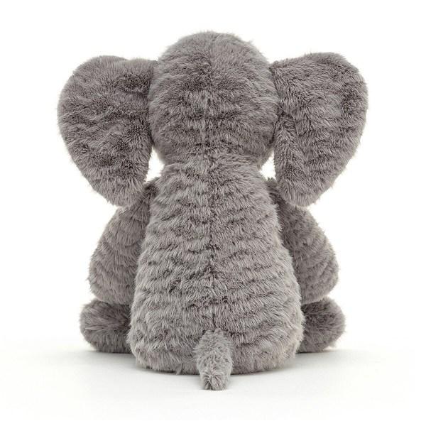 Ce gentil doudou tout droit venu de la jungle accompagnera Bébé partout et deviendra vite son copain de jeu et son confident. La peluche éléphant Rolie Polie fera un superbe cadeau de naissance !