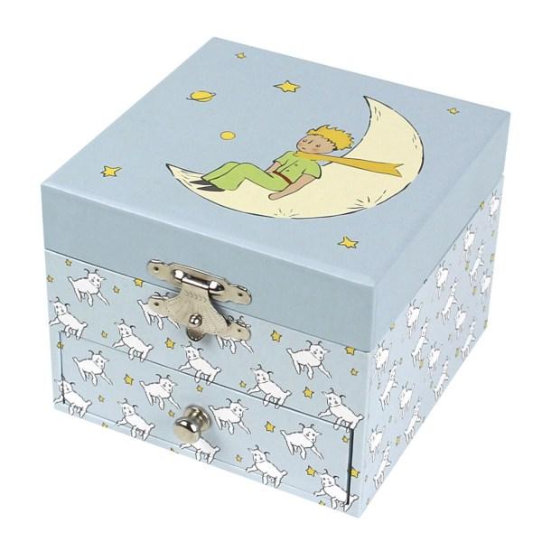 cube musical décor Petit Prince fermé
