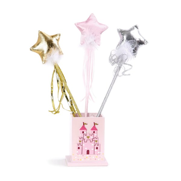 baguette avec des étoile 3 modèles doré rose ou argenté