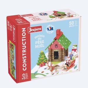 Maison du Père Noël 50 pièces