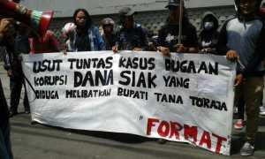 Diduga Korupsi, FORMAT Meminta Agar Bupati Tana Toraja Diperiksa Dalam Kasus SIAK