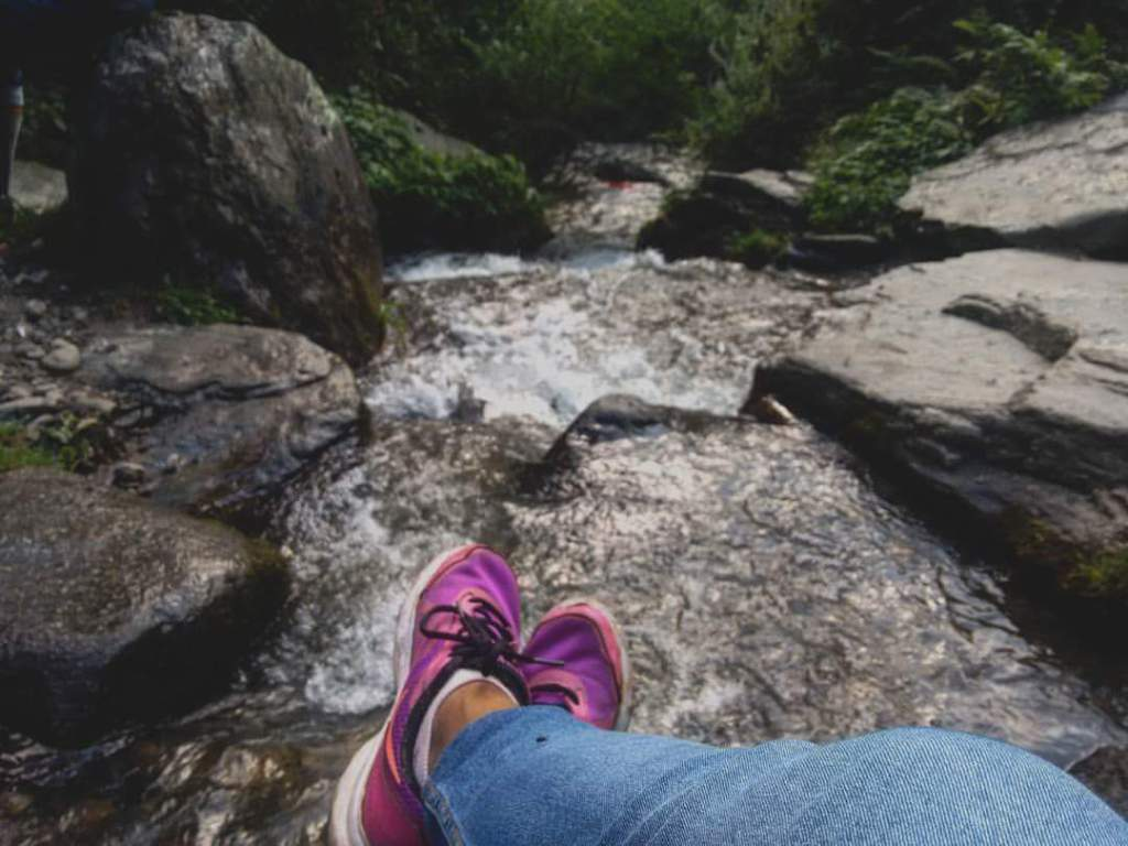 Somewhere near Jogni Falls, Manali