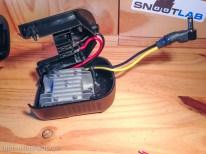 J'ai installé un régulateur de tension à la place du circuit de charge original