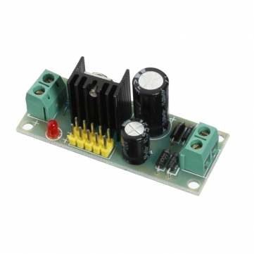 Circuit de régulation LM7805 (12V -> 5V)