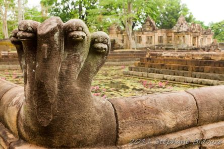 The Khmers temples in Thailand
