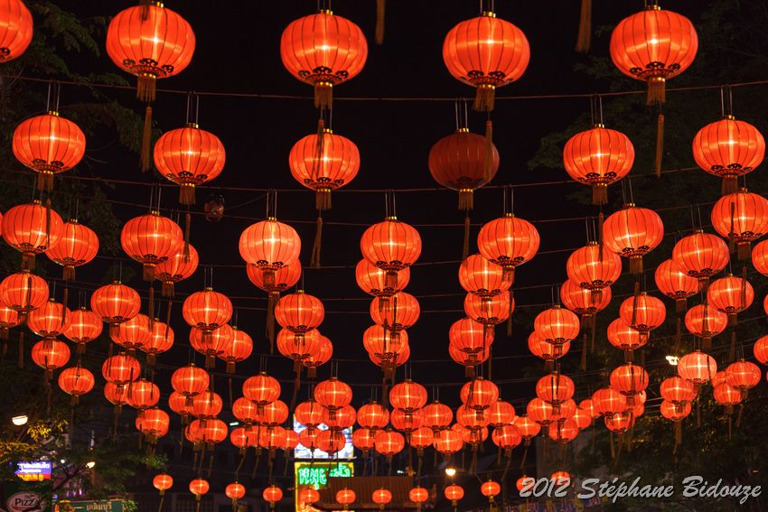 Chinese new year in Chinatown